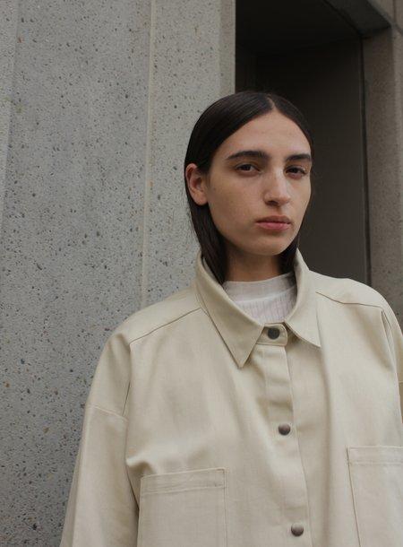 Desiree Klein Doran Jacket - sand twill