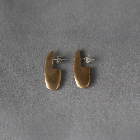 Seaworthy Nina Earrings in Brass