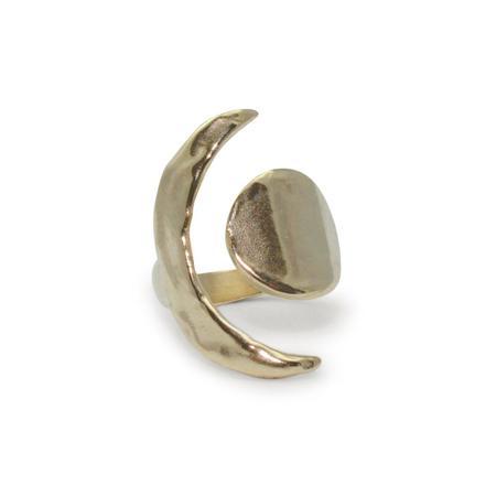 Amanda Hunt Brass Equinox Ring