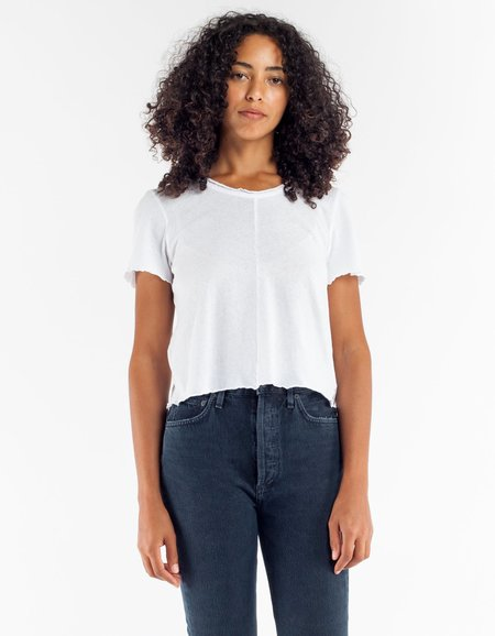 Lacausa Merrow Tee - Whitewash