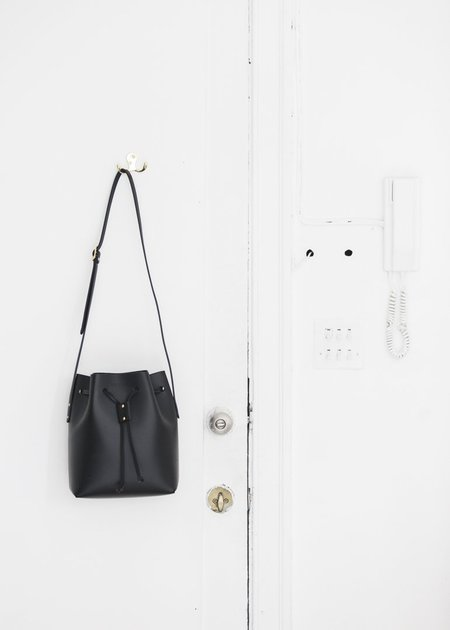 The Stowe Brady Bucket Bag in Black