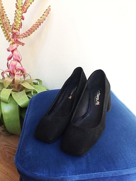 L'Intervalle Tabby Suede Shoes - Black