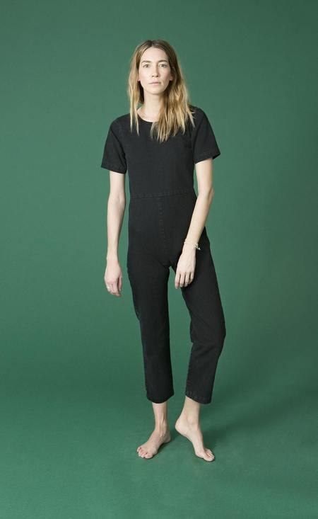 Ilana Kohn Lee Jumpsuit in Black Denim