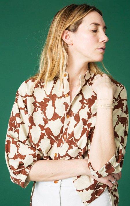 Ilana Kohn Marion Shirt in Tulipa Print
