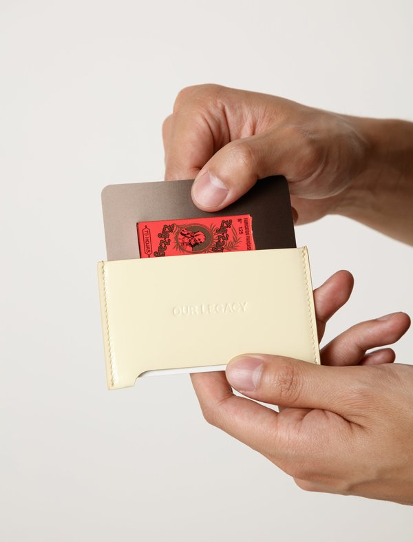 Our Legacy Mens Distortion Card Holder - Patent Nicotine