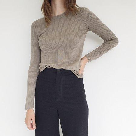Une Heures Beige Sweater