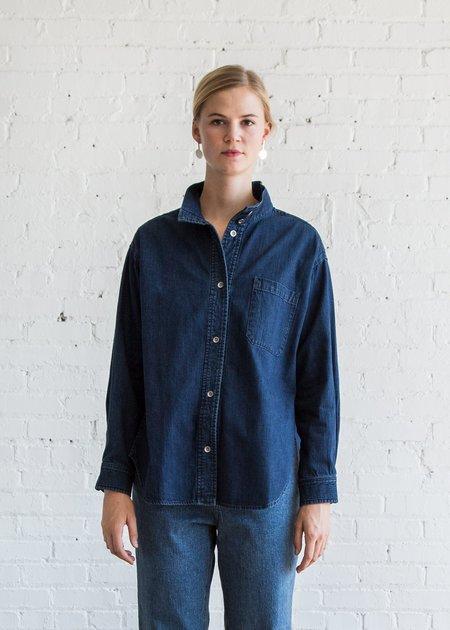 Rachel Comey Revoke Shirt - Dark Indigo
