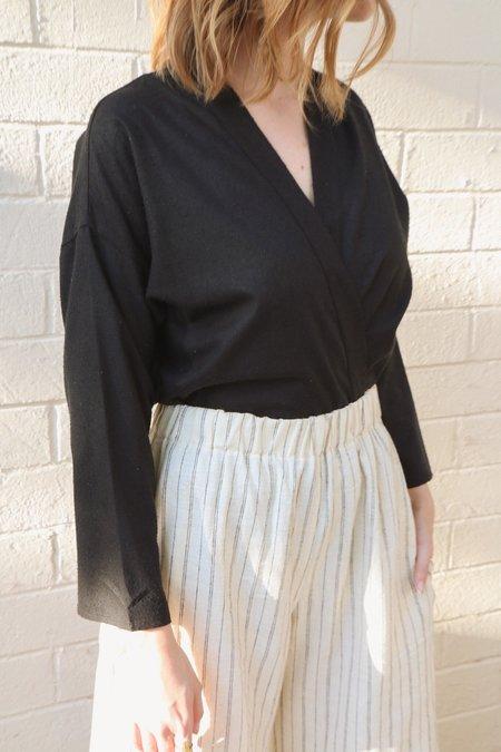 Ozma Kimono Wrap in Black