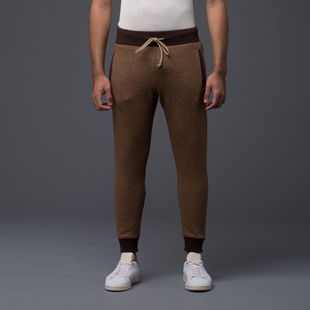 Thaddeus O'Neil - Wool Pipe Pant -­ Brown