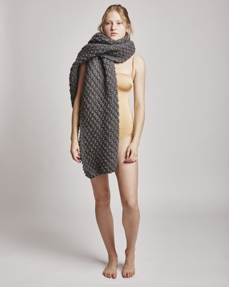 I Love Mr Mittens Moss Maxi Wrap In Charcoal