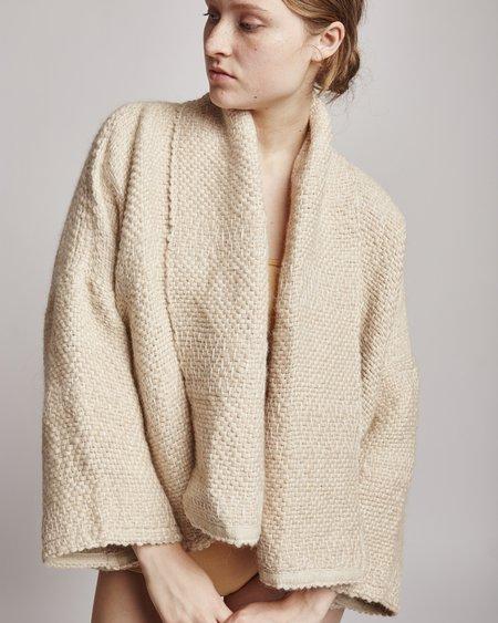 Atelier Delphine Kimono jacket in beige & cream