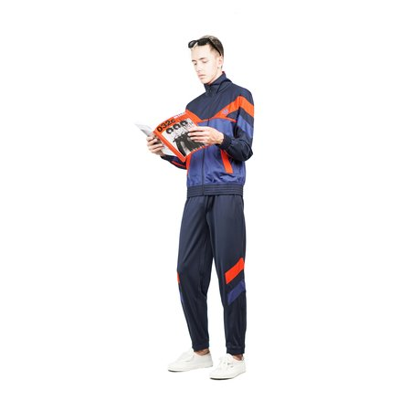 Kappa Kontroll Track Top - Blue/Navy/Red