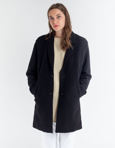YMC Heroes Coat in Black
