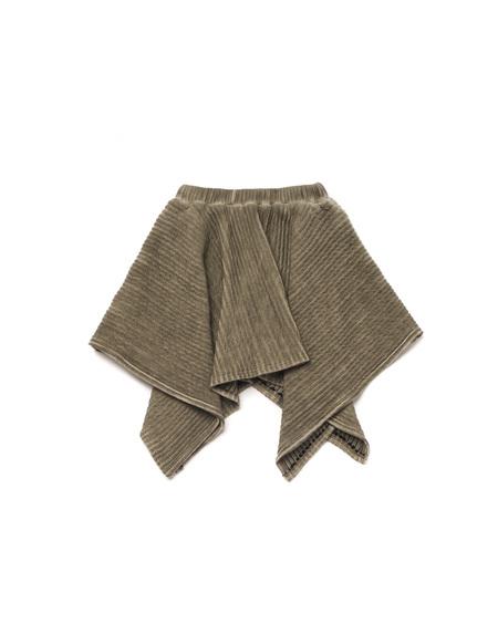 Kid's OMAMImini Handkerchief Ottoman Skirt Vintage Grey