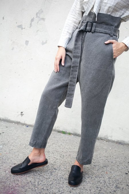 Caron Callahan Dover Pant in Stonewash Cotton Oiled