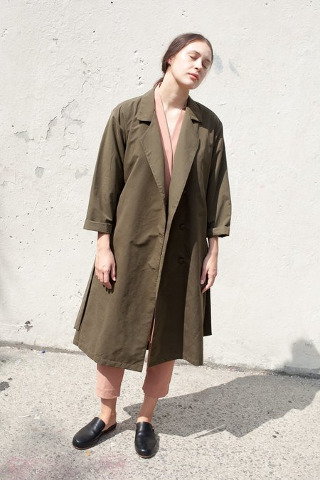 Jesse Kamm The Trench in Olive Brown