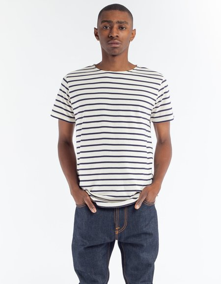 Armor Lux Sailor Shirt SS in Nature Navy