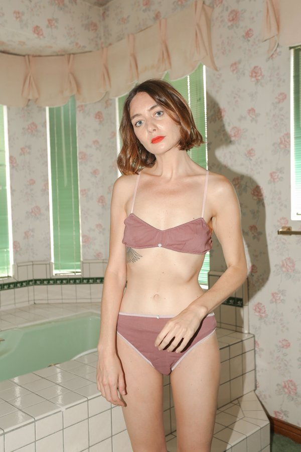 Botanica Workshop Romy Bralette in Viola