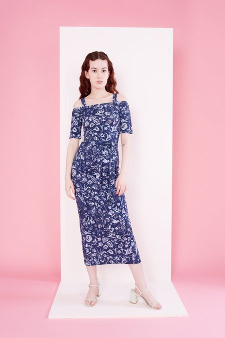 Samantha Pleet Capulet Dress - Blueprint Floral