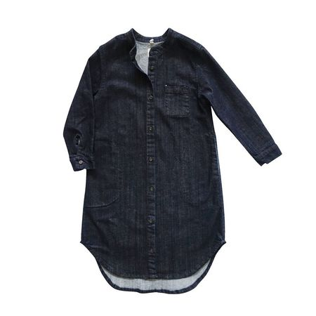 Nico Nico Denim Flare Shirt Dress