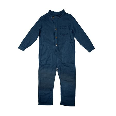 Kid's Nico Nico Zap Weave Jumpsuit - Sea