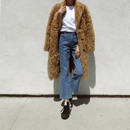 Sandy Liang Leche Coat