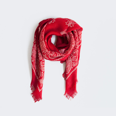 Destin Carre Bandana - Red