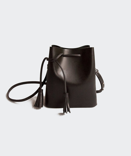 VereVerto Dita Bucket Bag - Black