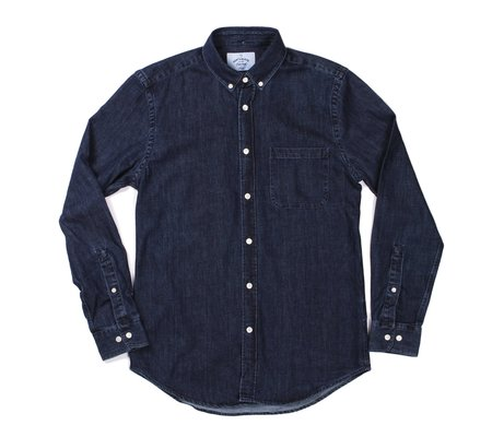 Portuguese Flannel Ganga 1W Denim Shirt
