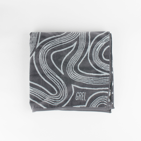 GREI. Byway Print Beach Towel