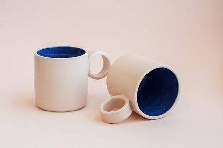 YYY Blue/Peach Medium Mug