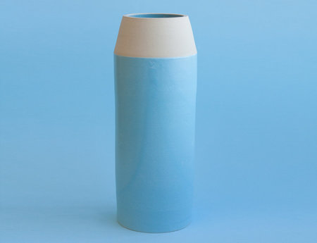 YYY Blue Collar Vase