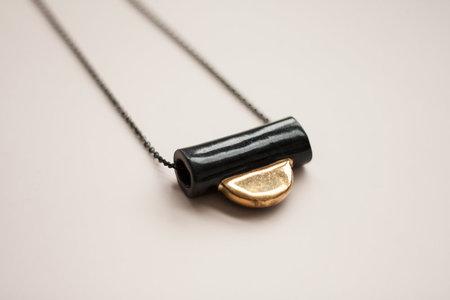 YYY Collar Tab Necklace
