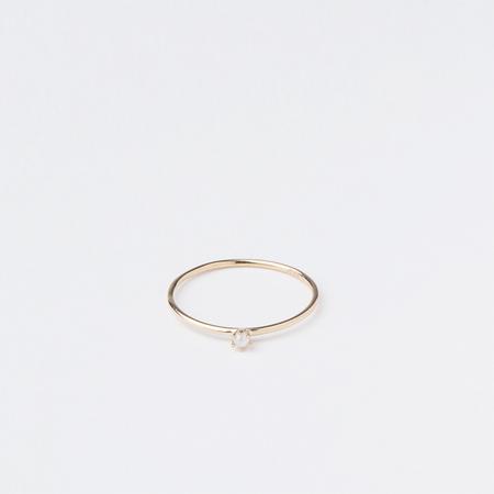 SATOMI KAWAKITA 18K Yellow Gold Baby Pearl Ring