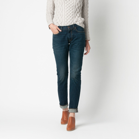 IMOGENE + WILLIE James Selvedge Mid Rise Jean in Tacoma