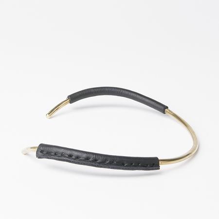 CRESCIONI Mesa Necklace in Black
