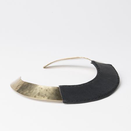 CRESCIONI Dune Necklace in Black