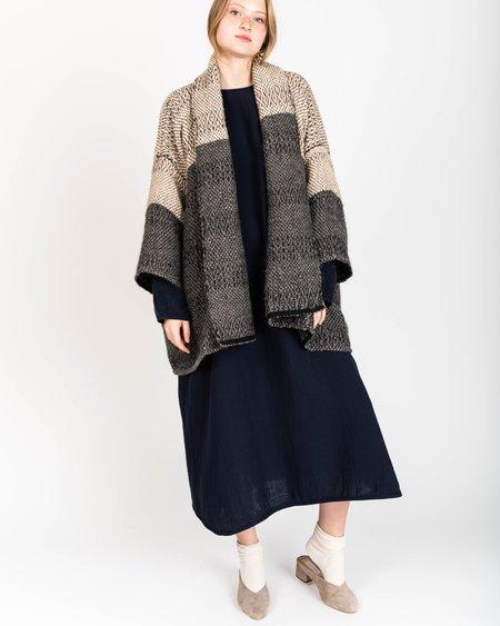 Atelier Delphine Haori Handwoven Coat Bicolore