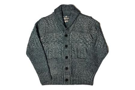Schott Cardigan Sweater - Blue