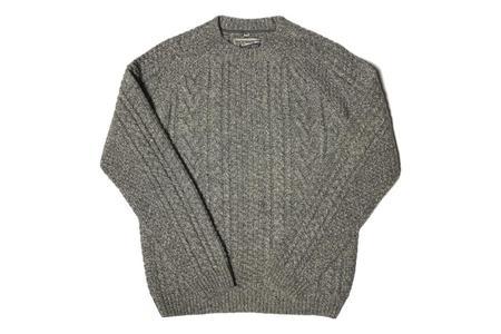 Schott Pullover Sweater - Heather Grey