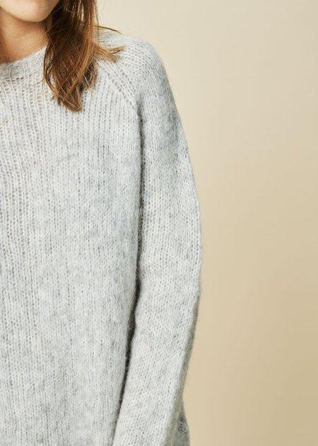 Sara Lanzi Alpaca Blend Long Sweater
