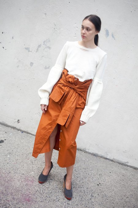 A Détacher Smith Skirt in Rust