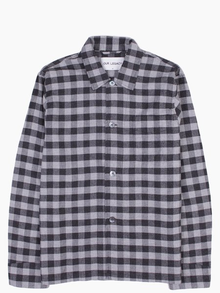 Our Legacy Box Shirt Gingham Flannel