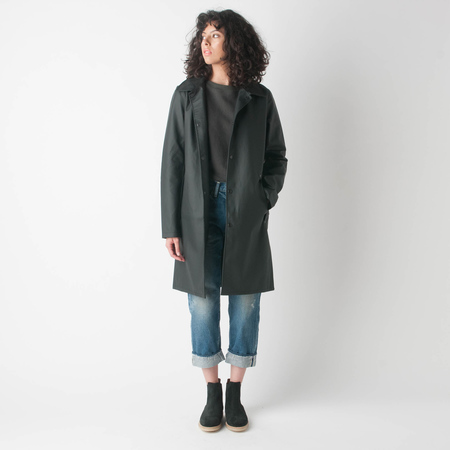 STUTTERHEIM Vasabron Car Coat in Black