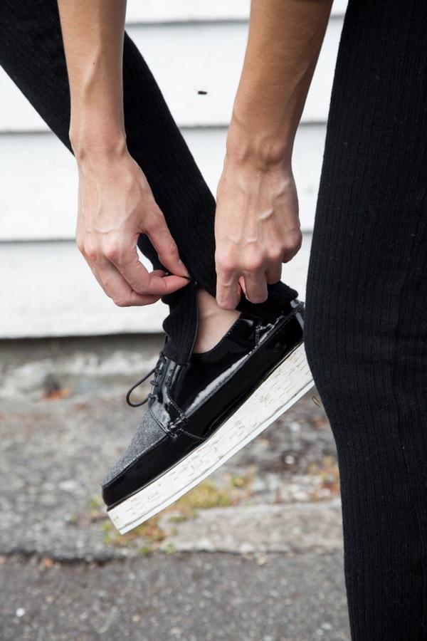 Assembly NY Ribbed Legging   black