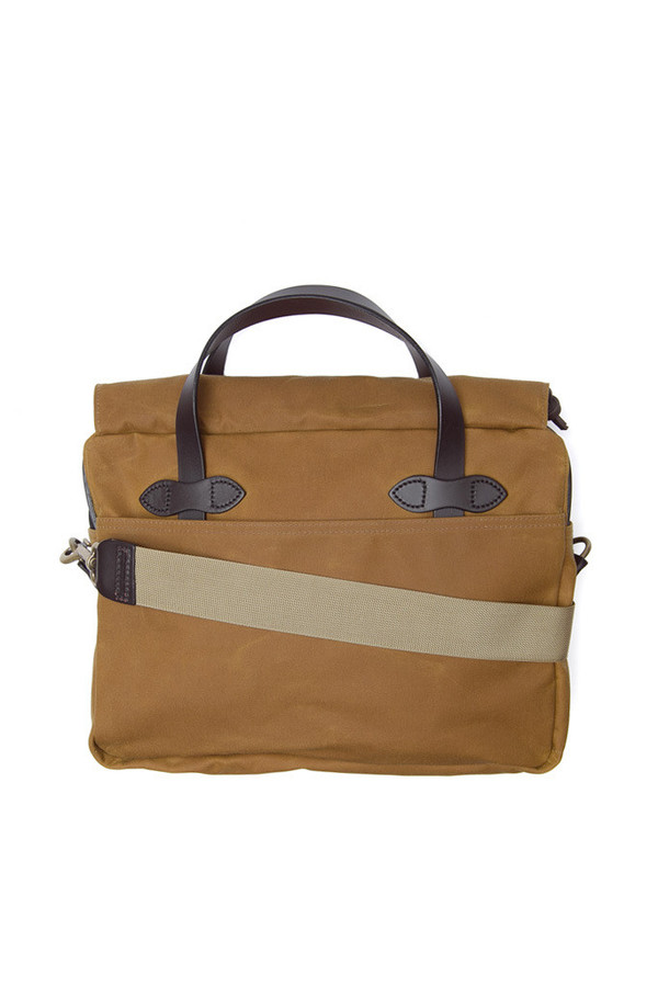 Filson Tin Cloth Original Briefcase Tan