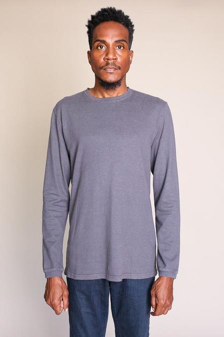 Jungmaven Baja Long Sleeve Tee in Gray