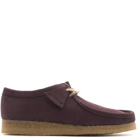 CLARKS ORIGINALS WALLABEE - PURPLE GRAPE NUBUCK