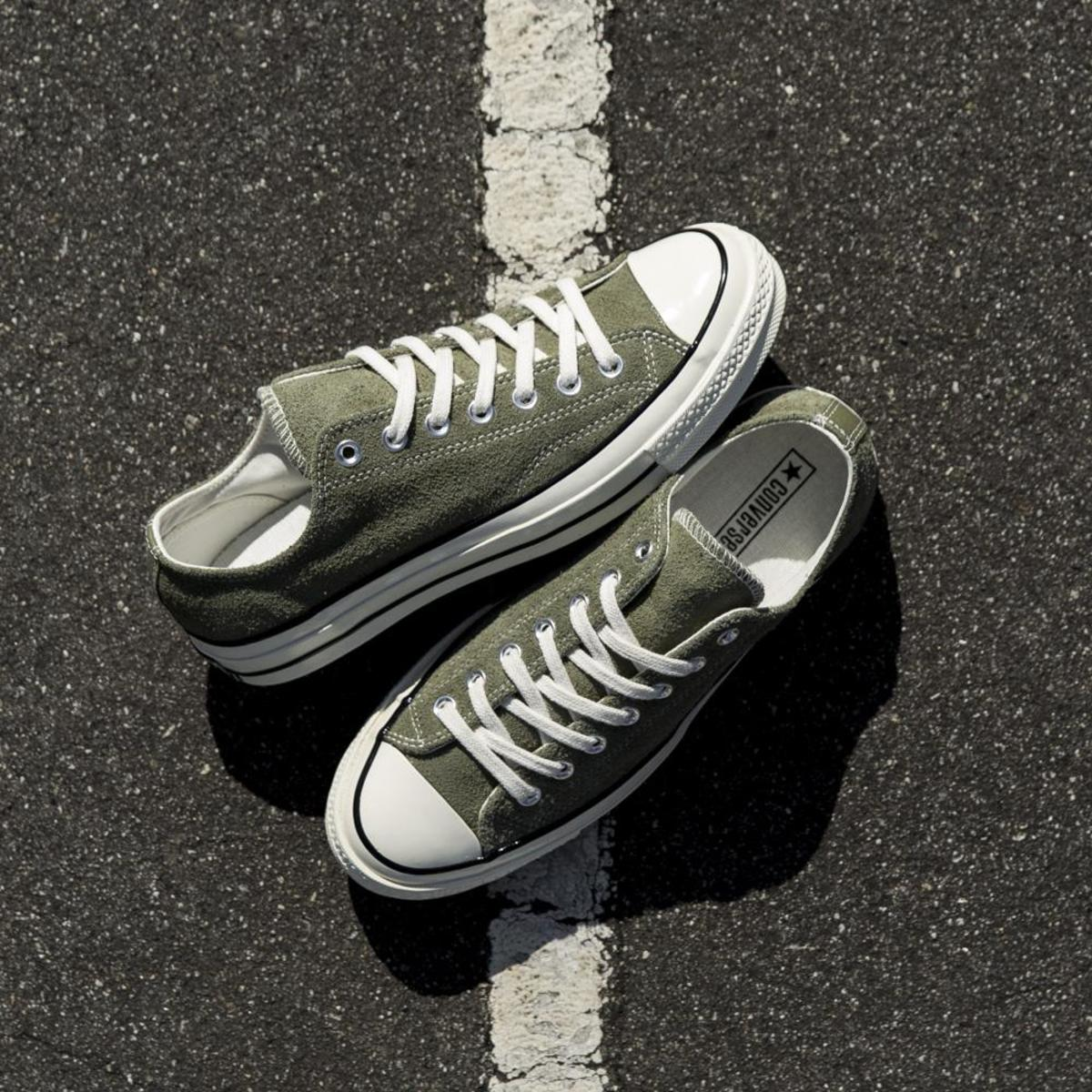 converse all star ox olive