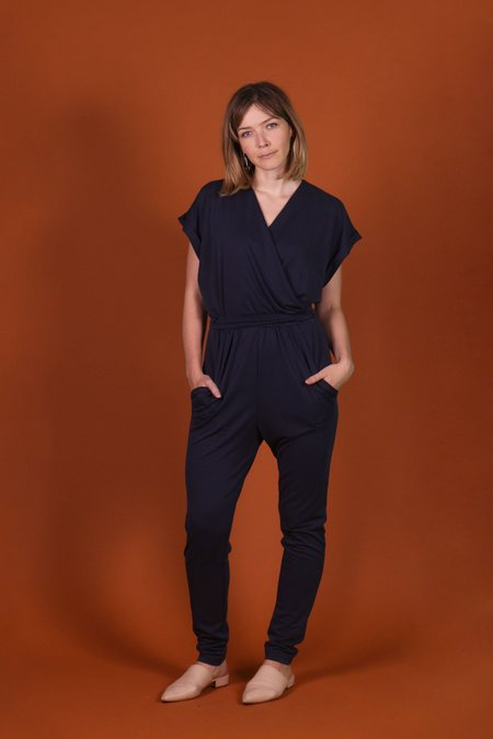 Eve Gravel Tainted Love Jumpsuit - Navy